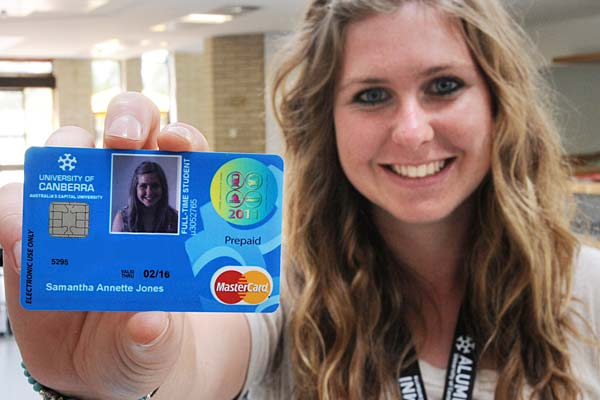 New Technology - University of Canberra Student Card